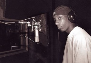 Big L in Studio