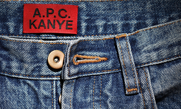Kanye West is working with French fashion line A.P.C., and eight pieces of clothing are now available for purchase.