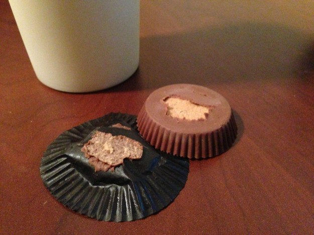 Reese's Peanut Butter Cups first came out 86 years ago. THIS STILL HAPPENS EVERY SINGLE TIME!